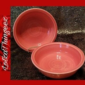 """SOLD Homer Laughlin Fiesta 2 7"""" Coupe Bowls"""